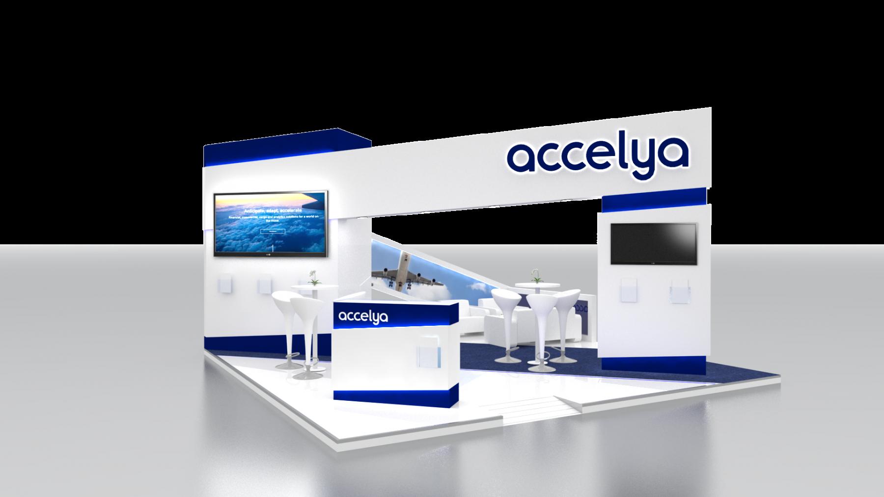 Diseño Stand Accelya 2018